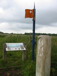Battle of Lansdowne marker