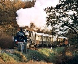 steaming ahead on The Bluebell Railway